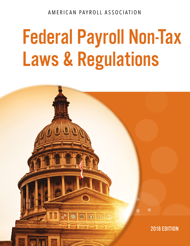 Federal Payroll Non-Tax Laws & Regulations cover image