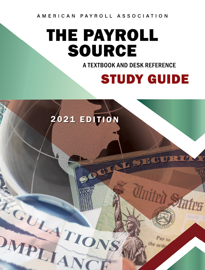 The Payroll Source Study Guide, 2021-2022 cover image